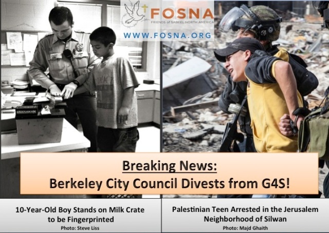 Berkeley Divests